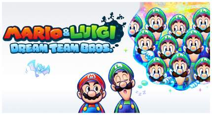 Игра для Nintendo 3DS Mario & Luigi: Dream Team Bros