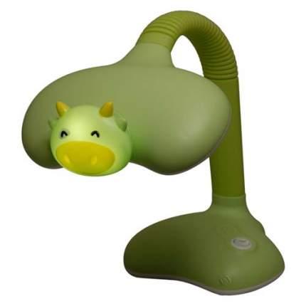 Светильник детской серии KT420A Корова 15Вт зелёный