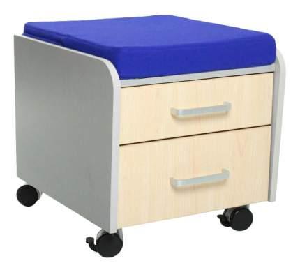Комод пеленальный Comf-Pro BD-C2 клен с синей подушкой