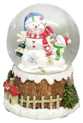 Снежный шар Новогодняя сказка Снеговик 973002