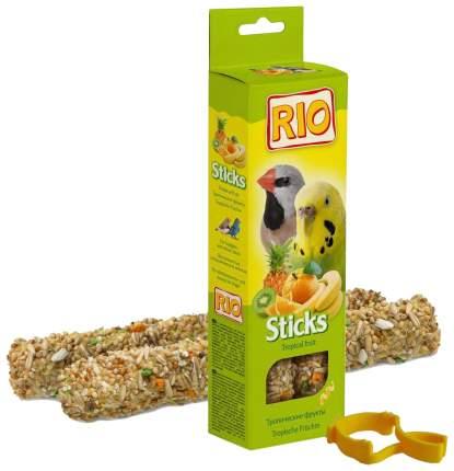 Лакомство для птиц RIO, с тропическими фруктами, 2шт, 0.08кг