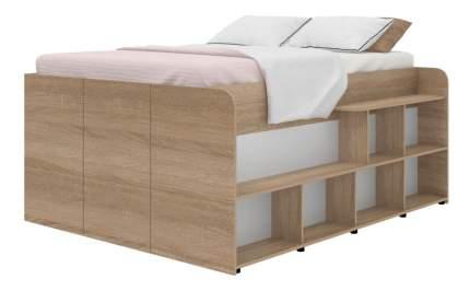 Кровать TWIST UP правосторонняя дуб сонома