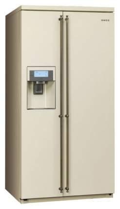 Холодильник Smeg SBS8003PO Beige