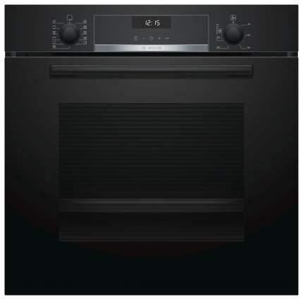 Встраиваемый электрический духовой шкаф Bosch HBH557CB0R Black