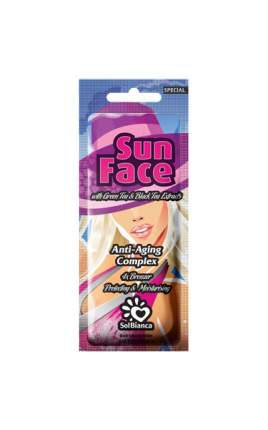 Средство для солярия SolBianka Sun Face 15 мл
