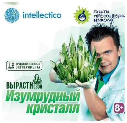 Набор для выращивания кристаллов Intellectico малый, цвет зеленый
