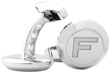 Посеребренные запонки Jaguar F-type 'F' Cufflinks Silver, артикул JJCLFTC