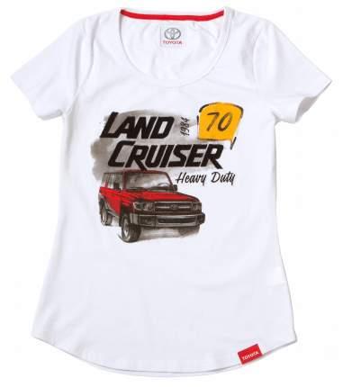 Женская футболка Toyota Land Cruiser 70 TMHRTTCL01XS White