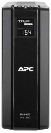ИБП (UPS) APC Back-UPS BR1500G-RS Черный