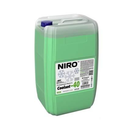 Охлаждающая жидкость NIRO Coolant Green -40C 10кг