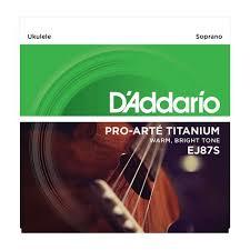 Струны для укулеле сопрано D ADDARIO EJ87 S