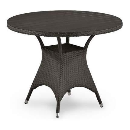 Кофейный столик Afina 74х96х96 см, коричневый