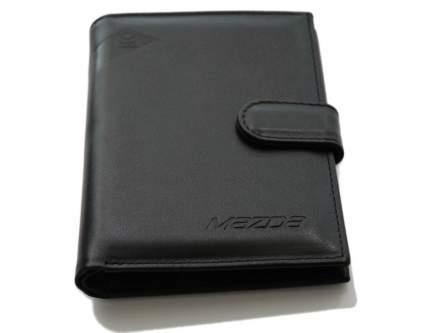 Портмоне из гладкой кожи Mazda 830077552 Black