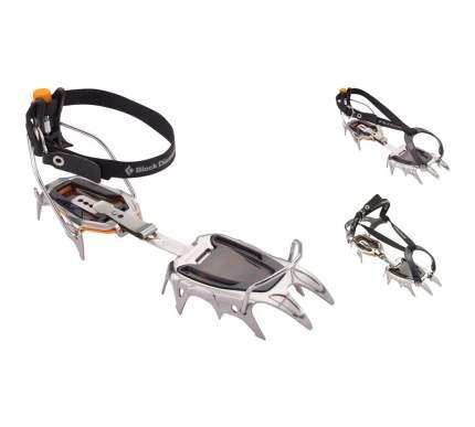 Кошки Black Diamond Serac Strap Crampons серые 36/46