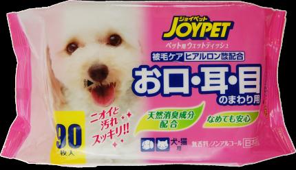 Влажные салфетки для собак и кошек Earth Pet, для базового ухода, 90 шт
