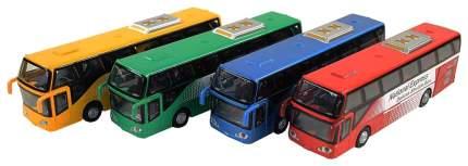 Машина инерционная Наша игрушка Автобус городской со световыми и звуковыми эффектами