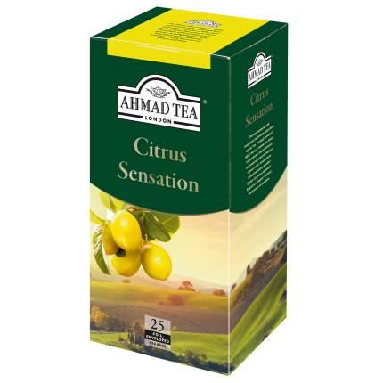 Чай черный Ahmad Tea citrus sensation с лимоном и лаймом 25 пакетиков