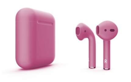 Наушники Apple AirPods Color 2 в футляре без беспроводной зарядки (Pink Matte)