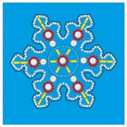 Вышивка бисером Рыжий Кот «Елочная игрушка. Волшебная снежинка»