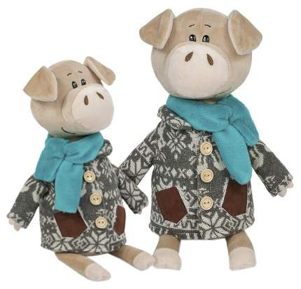 """Мягкая игрушка """"Свин Витя в пальто с оленями"""", 22 см"""