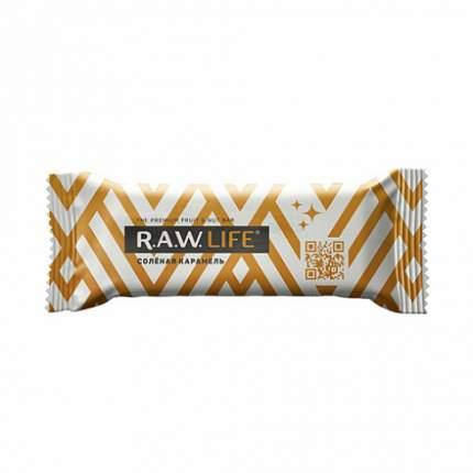 Батончик орехово-фруктовый R.A.W.LIFE соленая карамель 47 г