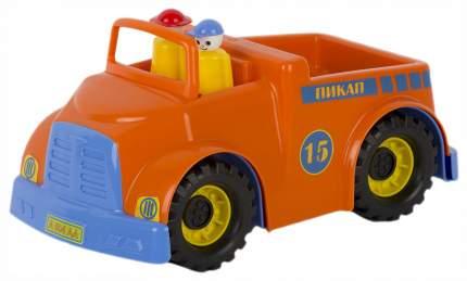 Игрушка автомобиль пикап, с фигурками