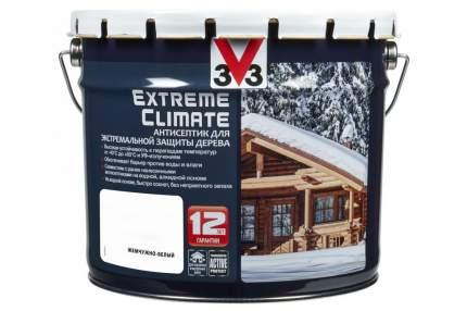 Антисептик для экстремальной защиты V33 Extreme Climate 9 л, Цвет жемчужно-белый