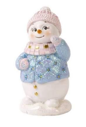 Фигурка новогодняя Феникс Present снеговик, 9x5x4,5 см