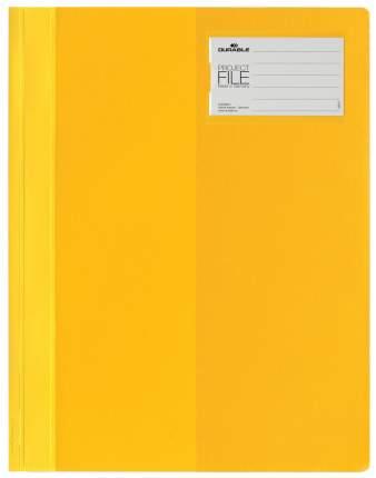 Папка-скоросшиватель Durable Project File Для проектов с кармашком Желтый