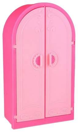 Шкаф для куклы, цвет: розовый