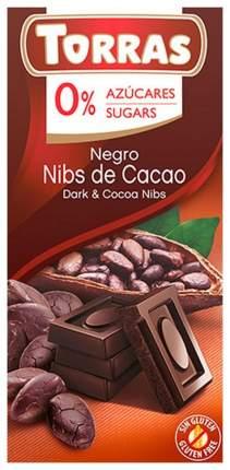 Шоколад темный Torras c какао бобами