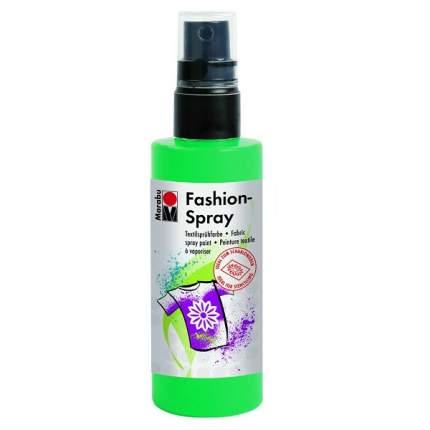 Краска-спрей Marabu Fashion Spray Для ткани 171950158 зеленое яблоко 100 мл