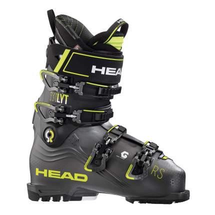 Горнолыжные ботинки HEAD Nexo LYT RS 130 2020, anthracite/yellow, 27.5