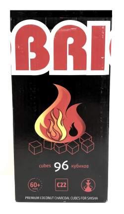 Уголь кокосовый Cocobrico (Кокобрико) в упаковке по 96 кубиков
