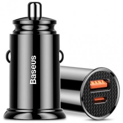 Автомобильное зарядное устройство Baseus PD3.0+QC4.0+USB+USB Type-C Baseus 30W