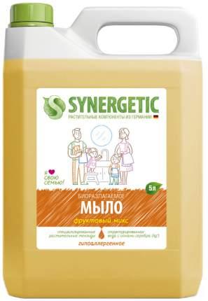 Жидкое мыло Synergetic Фруктовый микс 5 л
