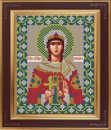 Вышивка бисером Galla Collection М270 Св.великомученица Варвара 12х15 см