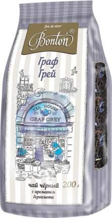 Чай черный Bonton граф Грей байховый цейлонский крупнолистовой с ароматом бергамота 200 г