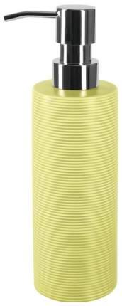 Дозатор для мыла Spirella Tube Ribbed Зеленый