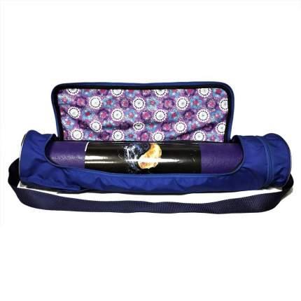 Чехол для йога-коврика RamaYoga Torba Yoga Bag 70 см синий
