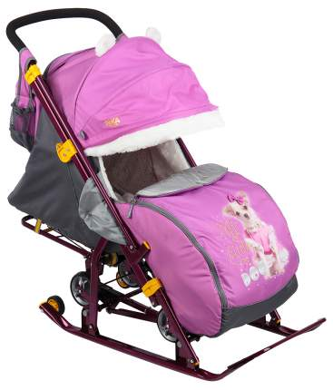 Cанки-коляска Nika Детям 7-2 Dog, орхидея