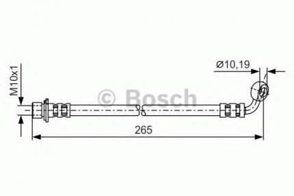 Шланг тормозной системы Bosch 1987481173