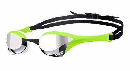 Очки для плавания Arena Cobra Ultra Mirror 1E032 зеленые/прозрачные (66)