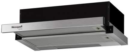 Вытяжка встраиваемая Weissgauff TEL 06 1M IX Silver/Black