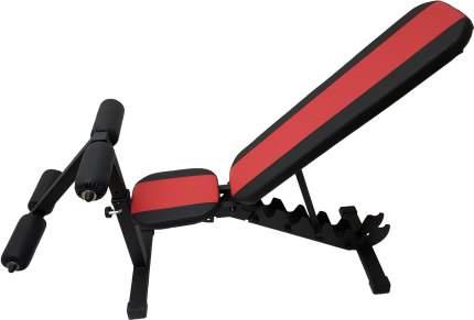 Универсальная скамья регулируемая Sportlim Orion Lite Red + Упор для пресса