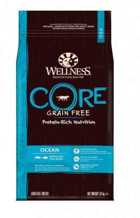 Сухой корм для собак Wellness CORE Adult/All Breeds Ocean, лосось, тунец, 1,8кг