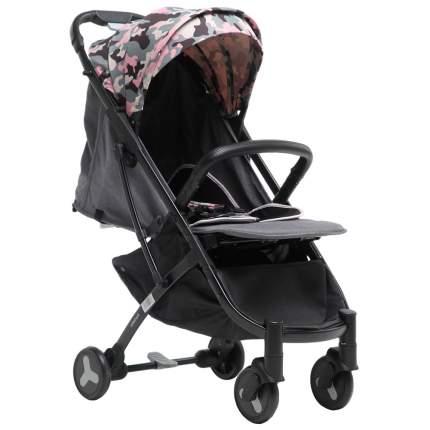 Прогулочная коляска Farfello S600 розовый камуфляж
