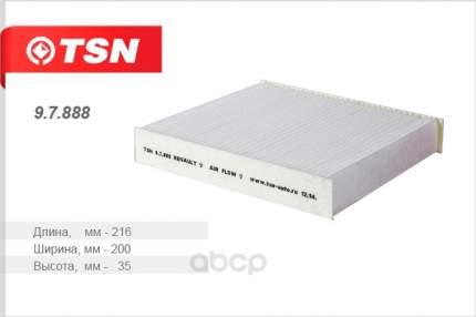 Фильтр воздушный салона TSN 97888
