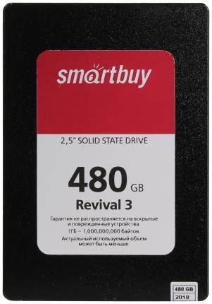 Внутренний SSD накопитель SmartBuy Revival 3 480GB (SB480GB-RVVL3-25SAT3)