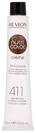 Краска для волос Revlon Professional Nсс 411 Холодный коричневый 100 мл